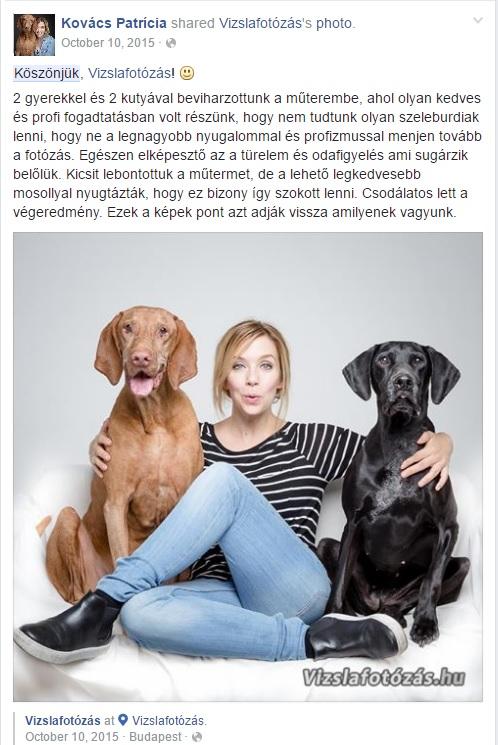 Kovács Patrícia és kutyái, Károly és Panka