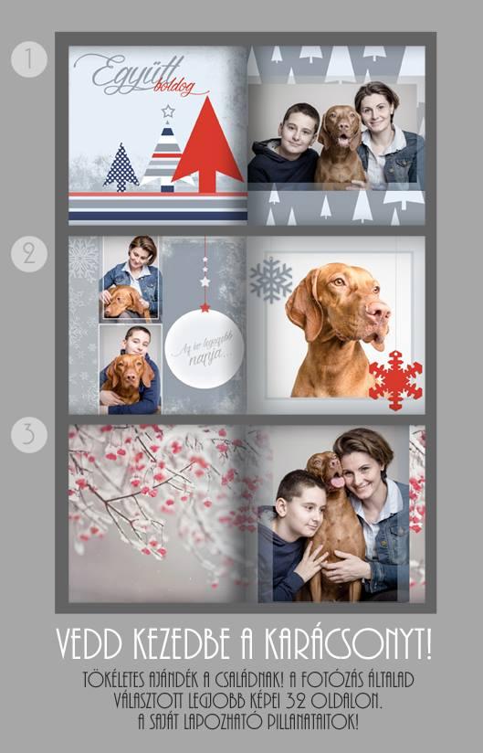 Karácsonyi fotókönyv