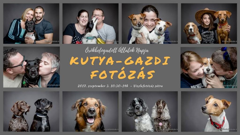 Kutya-gazdi fotózás - Örökbefogadott Állatok Napja